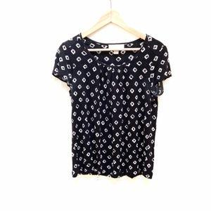 Michael kors scoop neck blouse shirt  S